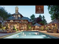 The Mayfair - $22.8 Million Dollar Luxury Home for Sale in Vancouver Canada - Faith Wilson Group - YouTube ------- Love the fountain/water feature at 0:28  :)  -db.