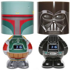 Star Wars MP3 Alarm Clock Lamp (darth vader)  / TechNews24h.com