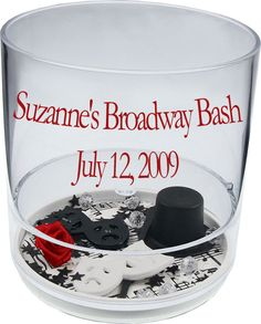 Broadway Party Favors Cups $3.50