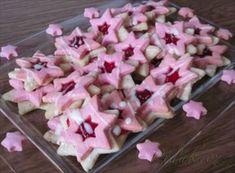Zobrazit detail - Recept - Orechovo - malinové hviezdičky
