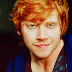 The reason I find red heads attractive...Rupert Grint