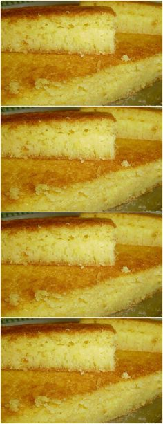 Whisk in eggs, butter, sugar, corn and milk in a blender # recipe # cake # pie # sweet # dessert # b Food Cakes, Blender Recipes, Chocolate Cheesecake, Sweet Desserts, Confectionery, Hot Dog Buns, Cake Recipes, Milk, Butter