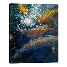 """JaxsonRea """"The Unseen Guest"""" by Iris Scott Painting Print on Wrapped Canvas Size:"""