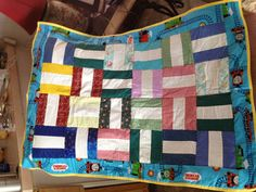 One of three baby quilts for N-ICU, 'incubator covers'.
