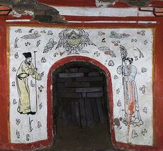 Ancient Chinese Tomb Reveals Vivid Murals & Poetry (Photos)