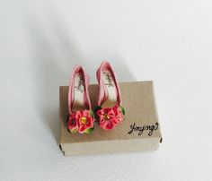 Handmade miniature shoes