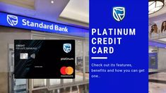 Take your private banking experience to the next level with the Standard Bank Platinum Credit Card. This credit card made for people looking to enjoy travel & leisure benefits. Platinum Credit Card, Private Banking, Bank Branch, Travel Tickets, Banking Services, Bank Statement, Credit Check, Financial Planner