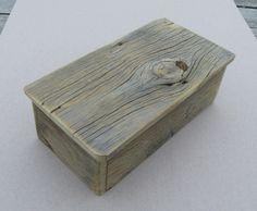 reclaimed barnwood box... beautiful