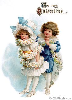Vintage Victorian Valentines - 3 of 4 by OldPixels.com, via Flickr