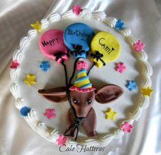 Dachsund Cake
