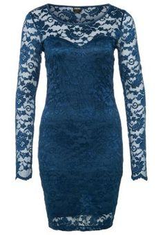 bestil Vero Moda JUPITER - Cocktailkjoler / festkjoler - blå til kr 229,00 (18-11-14). Køb hos Zalando og få gratis levering.