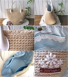 3104*crafts |麻ひもバッグ
