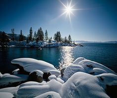 Load up your camera and skis, and enjoy the beauty of Lake Tahoe in the winter!