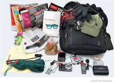 Descubre la mochila del periodista David Carr, quien escribe para el diario The New York Times