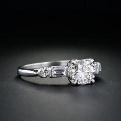 vintage engagement ring. love!