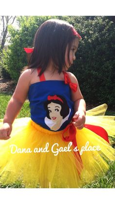 Gorgeous Snow White tutu with corset top Also by DanaandGaelsplace, $47.00