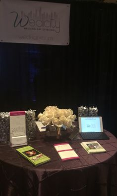 Wedicity booth at the Bridal Expo Chicago!!