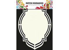 Dutch Doobadoo Dutch Art Label-Oval-Form