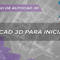 Aprenda Autocad 3D no nosso canal do YouTube Video Aulas Autocad