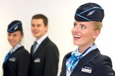 Flight attendants of Enter Air