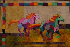 Quilt Spark Race with the Wind Quilt Pattern
