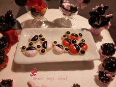 The Mini Food Blog: Mickey Mouse & Minnie Mouse ~ Sweet Rosy