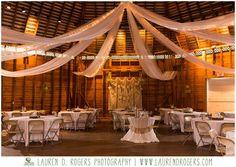 barn reception, barn decoration, fall wedding, autumn outdoor forest wedding, rustic woods wedding, Virginia wedding, rustic barn wedding inspiration, Frontier Culture Museum wedding, Lauren D. Rogers Photography
