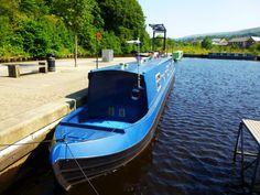 Canal Boat by Zrnho Correy England.