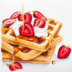 Best Picture For food art collage For Your Taste You are looking for something, and it is going to t Food Art Painting, Copic Marker Art, Food Sketch, Watercolor Food, Color Pencil Art, Food Drawing, Kitchen Art, Food Illustrations, Cute Food