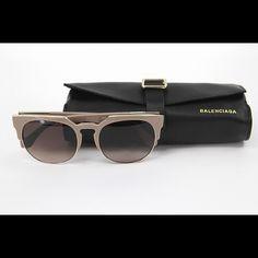Balenciaga BA0020 510 74F Antique Rose Gradient Brown Lenses. Brand New Collection 2016 Balenciaga Accessories Glasses