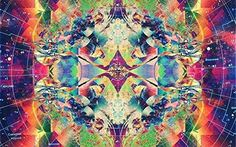 """Psychedelic Trippy Art Fabric Cloth Rolled Wall Poster Print -- Size: (20"""" x 13"""")"""