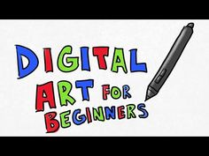 Digital Art for BEGINNERS: Getting Started with Digital Art - YouTube