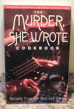 The MURDER SHE WROTE Angela Lansbury TV Mystery Show Cookbook VERY NICE!  Purchase at www.BooksBySam.com!