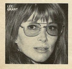 Lee Grant Lee Grant, American Actress, Vogue, Actresses, Female, Female Actresses, En Vogue