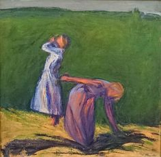 Helsinki Art Museum showcases Ellen Thesleff's trailblazing and evolving art Museum Exhibition, Art Museum, Female Painters, Louise Bourgeois, Watercolor Bird, Watercolor Paintings, Wassily Kandinsky, Henri Matisse, Figure Painting
