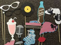 Soda shop props at www.etsy.com/listing/231361111/soda-shop-photo-booth-props