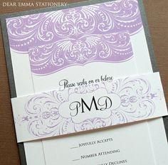 Romantisch Hochzeitseinladungen wirbelt und Antwort Karte eingestellt - traditionell und romantisch - Probe auf Etsy, CHF2.80