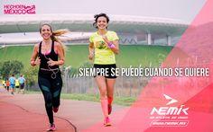 Si te lo propones, lo puedes logar. #SeAtleta #SeÚnico #SeNemik  http://nemik.mx/