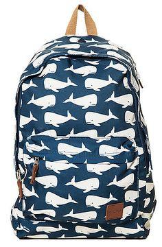 The Principle Backpack II in Whale Print by Nixon