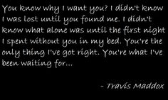 Travis Maddox from Jamie McGuire's Beautiful Disaster
