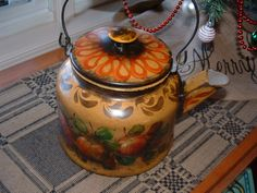 My favorite.  A large teakettle.