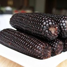 Aztec Black Corn ancient heirloom 50 seeds non GMO early Flint Corn, Black Corn, Corn Plant, Exotic Fruit, Fruits And Veggies, Purple And Black, Aztec, Seeds, Tasty