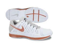 Nike Men's NIKE ZOOM VAPOR 9 TOUR TENNIS SHOES 8.5 Men US (WHITE/TEAM ORANGE/PR PLATINUM) Nike. $127.55