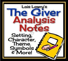 GIVER Analysis Notes: Powerpoint & Printable Teacher Copy (Lois Lowry)  from Presto Plans on TeachersNotebook.com (41 pages)  - Review the most important aspects of Lois Lowry's award winning novel, The Giver, with this 35 slide Powerpoint presentation. The notes discuss some of the most important aspects of the novel organized by chapter. The notes address characterization, theme