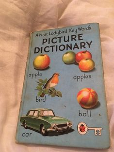 i remember thisssssss 1970s Childhood, My Childhood Memories, Ladybird Ladybird, Picture Dictionary, I Remember When, Word Pictures, My Memory, Old Toys, Vintage Books