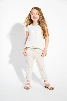 #Look fille chic et épuré - Collection Nordic Girl - www.shop-orchestra.com