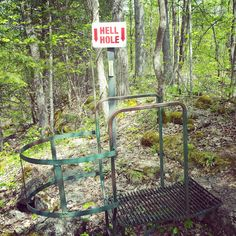 Hell Holes Nature Trails & Caves, Centreville Ontario