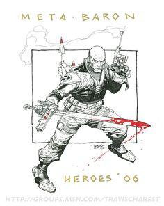 Charest, Travis - Metabaron Comic Art