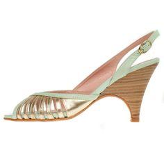 La Garconne Nadine Pompidou Wedges, Heels, Fashion, Heel, Moda, Fashion Styles, Wedge, Shoes High Heels, Fashion Illustrations
