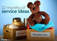 Be the light: A 12-month plan to teach children service.